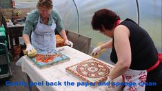 How to create mosaic art indirect method by Sue Kershaw Mosaic Artist