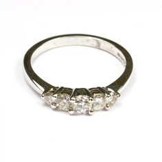 18ct White Gold & Diamond Eternity #diamonds #diamondrings #engagementring #love #wedding