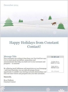 11 holiday email templates for small businesses nonprofits 11 holiday email templates for small businesses nonprofits spiritdancerdesigns Gallery
