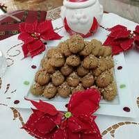 Μελομακάρονα από τον Άκη Almond, Food, Eten, Almond Joy, Almonds, Meals, Diet