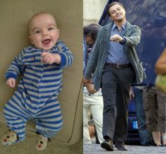 strutting Leo as a baby? Yes please.