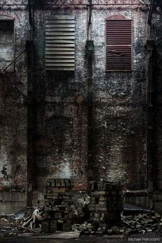 """Stacked Crooked/Photography by Michael Pietrocarlo, from his """"Rust Belt"""" series"""