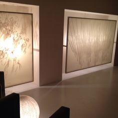 Lighting, pergamins, bamboo sculpture behind pergamins makes an elegant shadow.@ingraciaevents