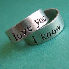 Han/Lea bracelets