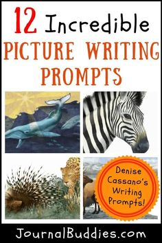 While tried-and-true writing prompt and journal topic lists effectively help students explore new topics and express their own ideas, picture writing prompts can be a unique and innovative way of inspiring kids to tell a story. Picture Writing Prompts, Writing Prompts For Kids, Writing Lessons, Teaching Writing, Writing Skills, Teaching Strategies, Writing Journals, Sentence Writing, Persuasive Writing