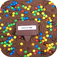 Home Made Creamy Chocolate M&M Fudge - 1 Lb Box. Available in over 70 different flavors! Each has its own picture. Only $14.99 for one 1 lb box of fudge plus shipping ($8.95 on entire order! *continental U.S. only)