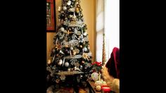 Christmas tree decorating ideas 2016 (gold,silver,white and black theme)