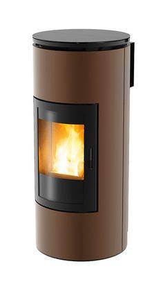 Tube pellet stove - MCZ