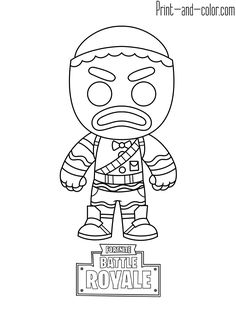 Coloriage Fortnite Mini.12 Best Fortnite Coloring Page Collection Images