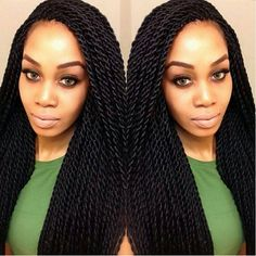 love the thicker sized singalese twist. #hairenvy