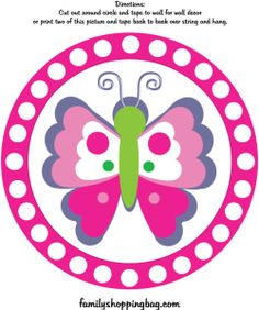 Butterfly Wall Decoration 2 Party Decorations