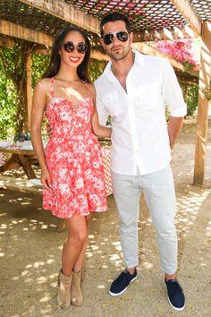 Cara Santana and Jesse Metcalfe - Coachella 2014 | Sup3rb http://www.pinterest.com/superbycarolina/