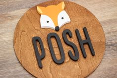 Decorate your nursery with this stylish, modern wooden name sign! Everything is hand crafted with a whole lot of love!  Each piece will be cut, sanded, painted and stained by hand. The stain may vary due to the grains and knots from the wood. That is what makes your sign so unique! Personalized Wooden Signs, Wooden Name Signs, Wooden Names, Wood Signs, Wood Letters, Handmade Wooden, Make It Yourself, Laser, Knots