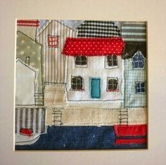 stitched cottages by kirsty elson by sheila.moose