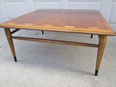 Vintage Mid Century Danish Style Lane Acclaim Coffee Table