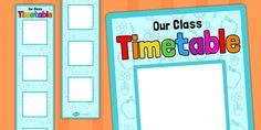 Vertical Visual Timetable Display - vertical, visual, timetable, display