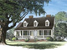 Eplans Country House Plan - Snee Farm - 2500 Square Feet and 3 Bedrooms from Eplans - House Plan Code HWEPL10035