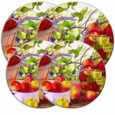 Range Kleen 5059 Apple Harvet Burner Kovers, Set of 4 Range Kleen Gas Stove Burner, Stove Top Burners, Apple Kitchen Decor, Kitchen Decor Themes, Electric Stove Burner Covers, Stove Top Range, Cookware Accessories, Kitchen Accessories, Cow Spots