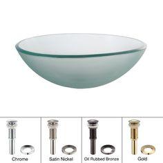 Kraus GV-101FR  Glass Vessel Sink (Frosted) Kraus http://www.amazon.ca/dp/B00590TYNA/ref=cm_sw_r_pi_dp_ZPZwvb154MPR7