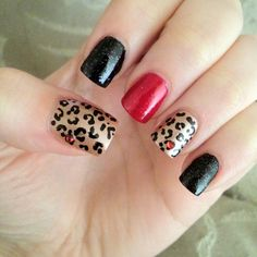 Rockabilly inspired nails