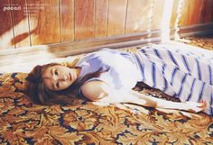 SNSD Overload: Tiffany in 'California Desert' InStyle April 2015