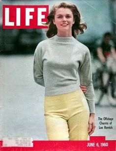 1960 original vintage Life magazine cover featuring actress Lee Remick.