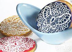 Rendas de açúcar Adele, Sprinkles, Fondant, Decorative Bowls, Icing, Plates, Cookies, Tableware, Sweet