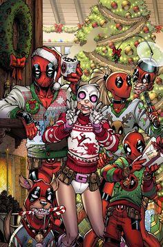 Deadpool,Lady Deadpool and Gwenpool