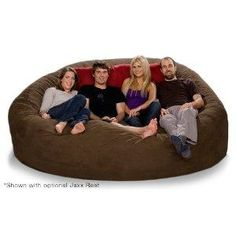 beanbag chairs are wayy comfy. id like to have one to take the place of a couch.