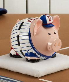 Look at this #zulilyfind! Grand Slam Ham Piggy Bank #zulilyfinds
