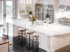 HGTV gives you a peek inside a Parisian-style estate located in Bellevue, Wash. >> http://www.hgtv.com/design/ultimate-house-hunt/2015/amazing-kitchens/amazing-kitchens-parisian-style-estate-in-bellevue-washington?soc=pinhuhh