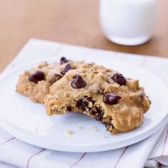 Revamped, these gems are still ooey-gooey good — but they're only 80 calories each (with a gram of healthy fiber per cookie).