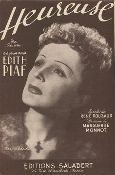 Edith Piaf 1954