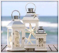 beach & lanterns