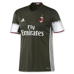 Camiseta Ac Milan Tercera 2016-17