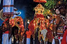 The Buddha's third historic visit to Sri Lanka is celebrated annually on Duruthu Poya in January with a vibrant display of history, tradition and culture at the sacred Kelaniya Raja Maha Viharaya.   #colombo #festival #srilanka #2016
