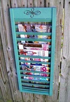 Magazine Shutter Rack
