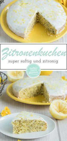 Für so einen saftigen Zitronen-Mohn-Kuchen gibt es viele gute Gründe. Im Winter sorgt der Zitronenkuchen für Sommergefühle und im Sommer für Erfrischung. Denn in meinem Zitronenkuchen mit Mohn steckt die Zitrusfrucht gleich mehrfach: Genuss hoch drei! #z