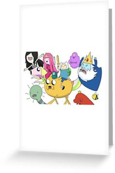 Adventure Time - Group Shot/Collage