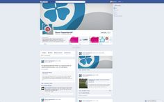 Upgraded the design for the Danish Nurses' Organization's Facebook page, as Timeline finally has become available on pages. I love Timeline!