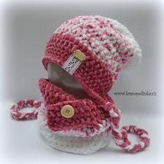 Homelešanka a nákrčník Dolphin ombre efekt – Krampolínka Crochet Beanie Hat, Beanie Hats, Crochet Hats, Baby Dolphins, Kids Hats, Crochet Projects, Diy And Crafts, Knitting, Fashion