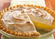 Alton Brown's Lemon Meringue Pie recipe from Good Eats on Food Network is sweet and tart; it's a classic citrus dessert topped with creamy toasted meringue. Amazing Chocolate Cake Recipe, Best Chocolate Cake, Fruit Recipes, Cake Recipes, Dessert Recipes, Lemon Cream Pies, Lemon Brownies, Cream Pie Recipes, Lemon Meringue Pie