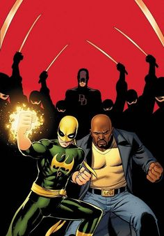 Luke Cage vs Captain America | Luke Cage/Iron Fist VS Captain America/Falcon VS Cable/Deadpool ...