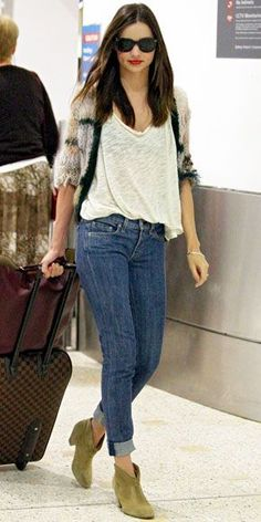 Look of the Day - December 22, 2011 - Miranda Kerr from #InStyle