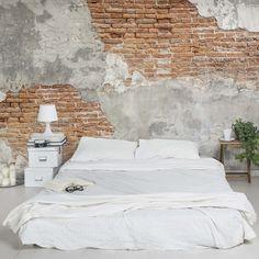 details zu fototapete ziegel optik vlies tapete mauer wandbild xxl wandtapete f a 0452 a a. Black Bedroom Furniture Sets. Home Design Ideas