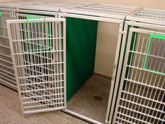 Express kennels - Stone Mountain Pet Products introduces the Express Kennels as a short-term housing solution for kennel and doggy daycare o...