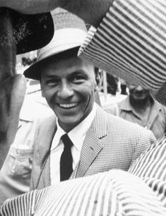 Frank Sinatra @Emily Schoenfeld Quick :) Happy birthday thought you might like this picture ;)