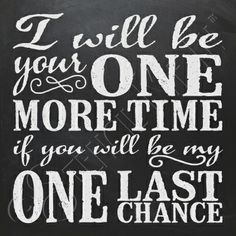 2911 * I Will Be Your One More Time Stencil by Stencil Me In