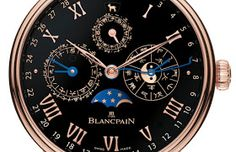 Watches by SJX: Blancpain Unveils The Villeret Traditional Chinese Calendar In Black Enamel For Only Watch 2015