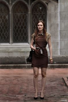 Blair Waldorf in Gucci Pre-Fall 2010